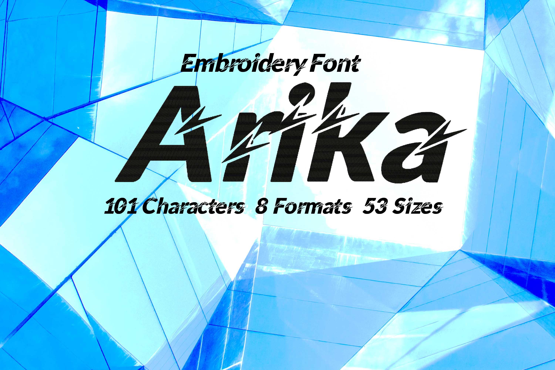 Arika Futuristic Typeface