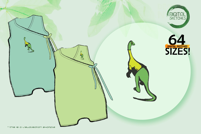 Dinosaur Saltasaurus
