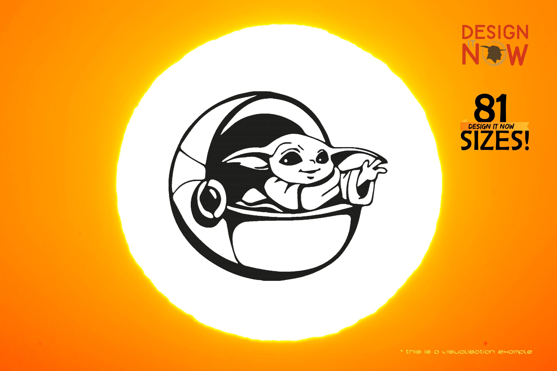 Tribute To Fictional Character Grogu aka Baby Yoda (Capsule)