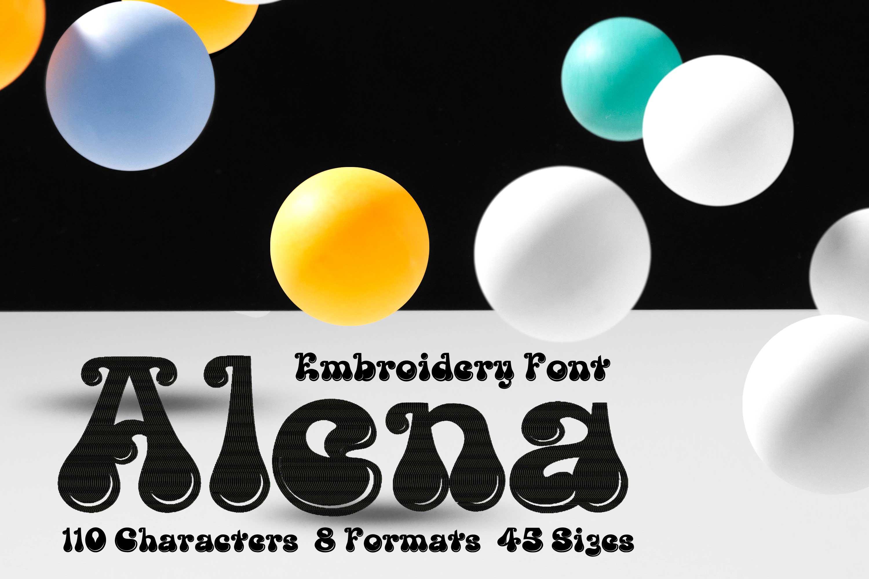 Alena Rounded Fancy Font