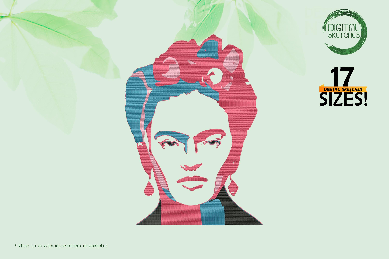 Tribute To Artist Magdalena Carmen Frieda Kahlo Y Calderon aka Frida Kahlo (Abstract)