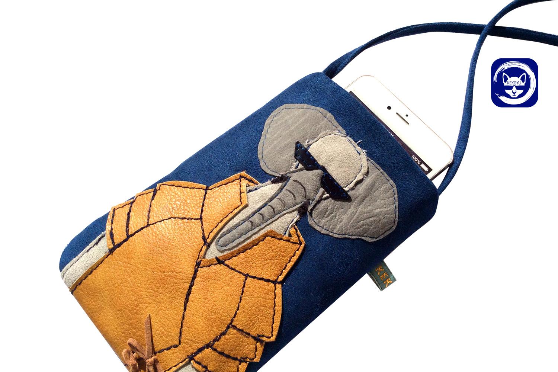 Mr Elephant Phone Crosbody