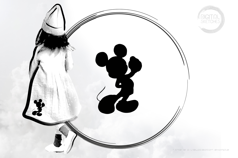 Mickey Silhouette I