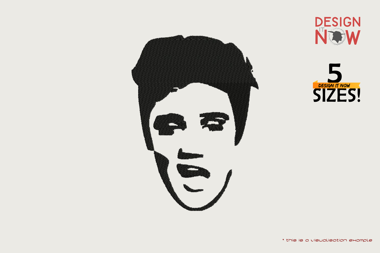 Tribute To Musician Elvis Aaron Presley aka Elvis Presley (Head)