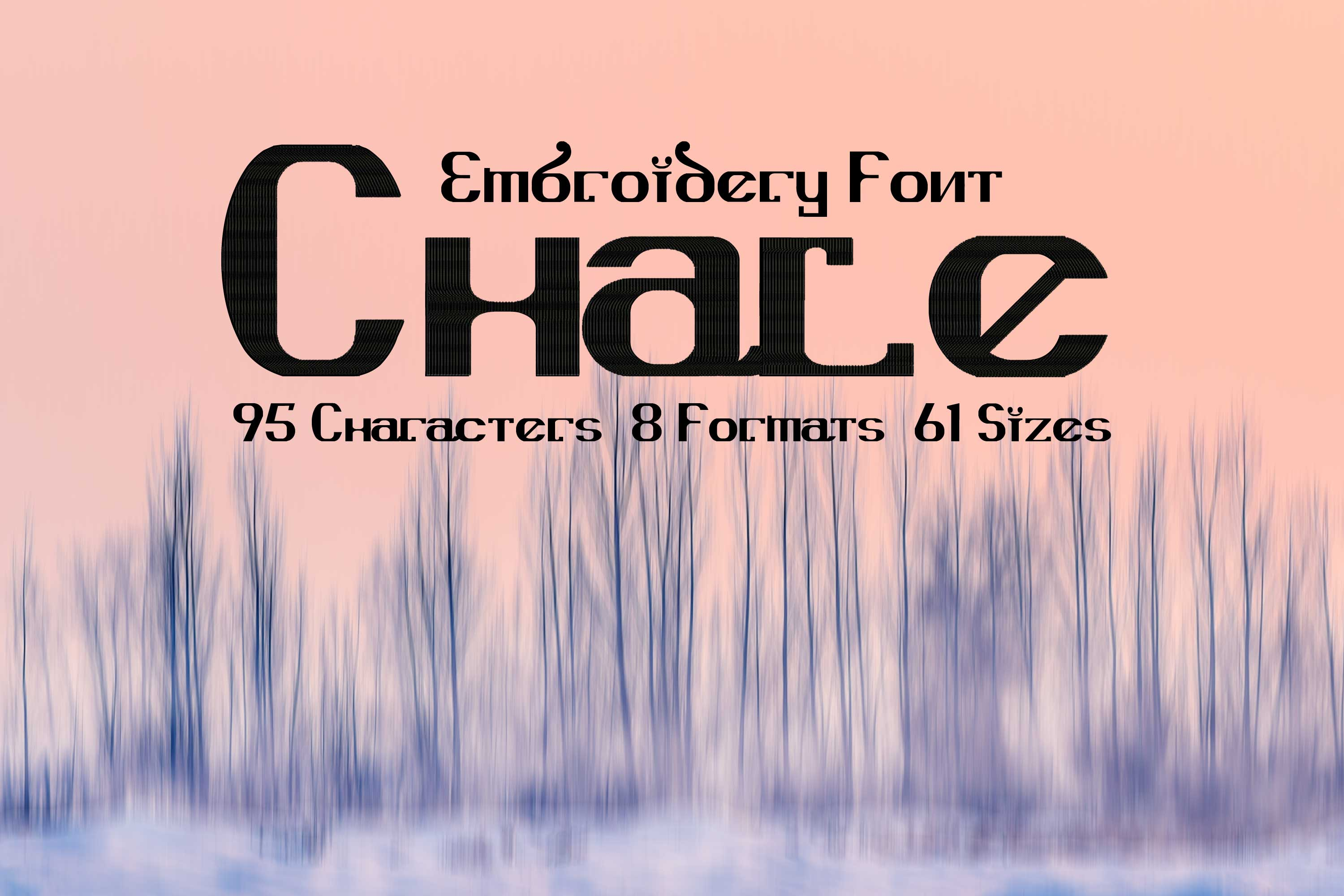 Chale Foreign Look Typeface