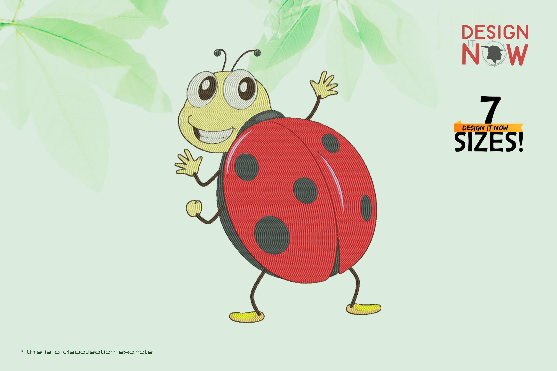 Cartoon Ladybug IV