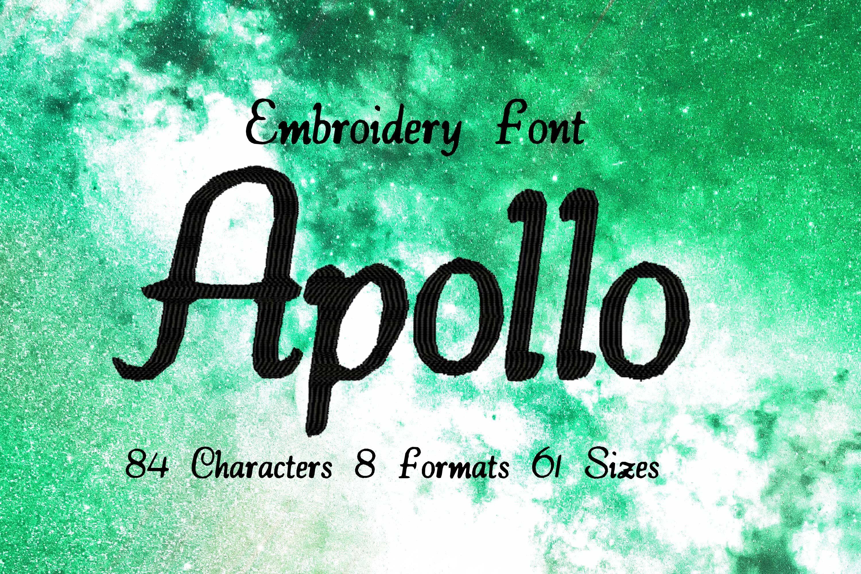 Apollo Handwritten Brush Lettering