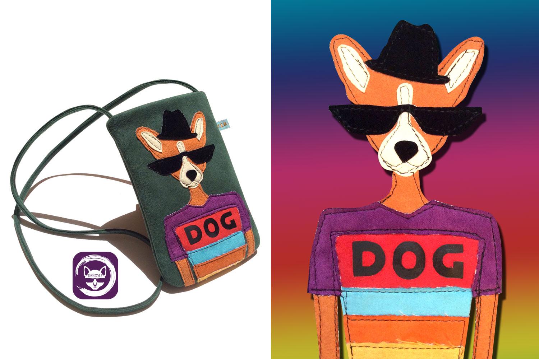 Mr Dog Phone Crossbody