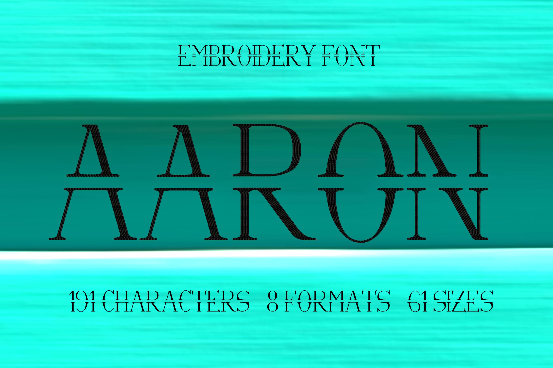 Aaron Split Serif Font