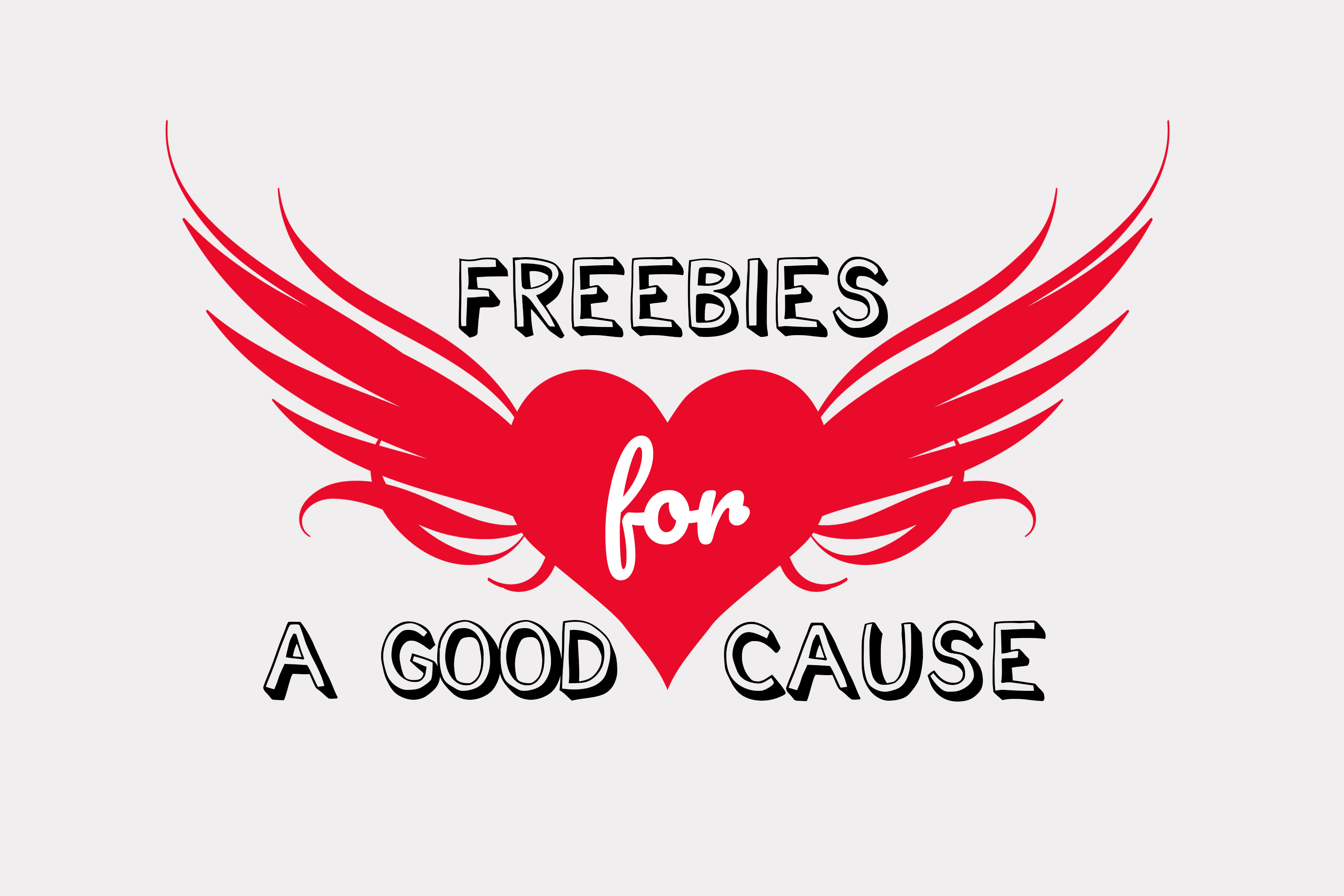 Freebies for a good cause