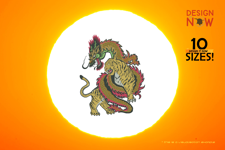 Dragon-Tiger-Battle