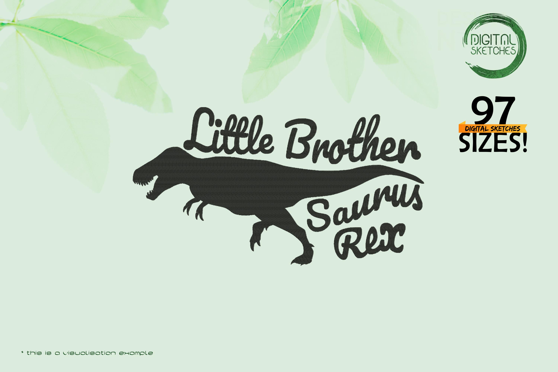 Tyrannosaurus-Dinosaur-Little-Brother-Saying