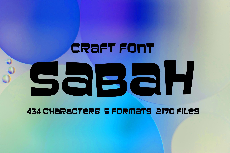 Sabah Cartoon Font