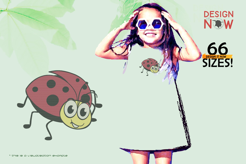 Cartoon Ladybug VI