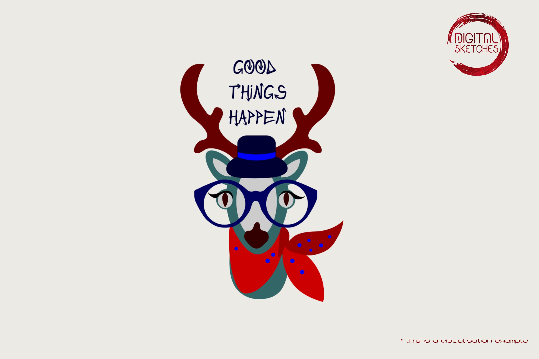 Deer Good Things Happen