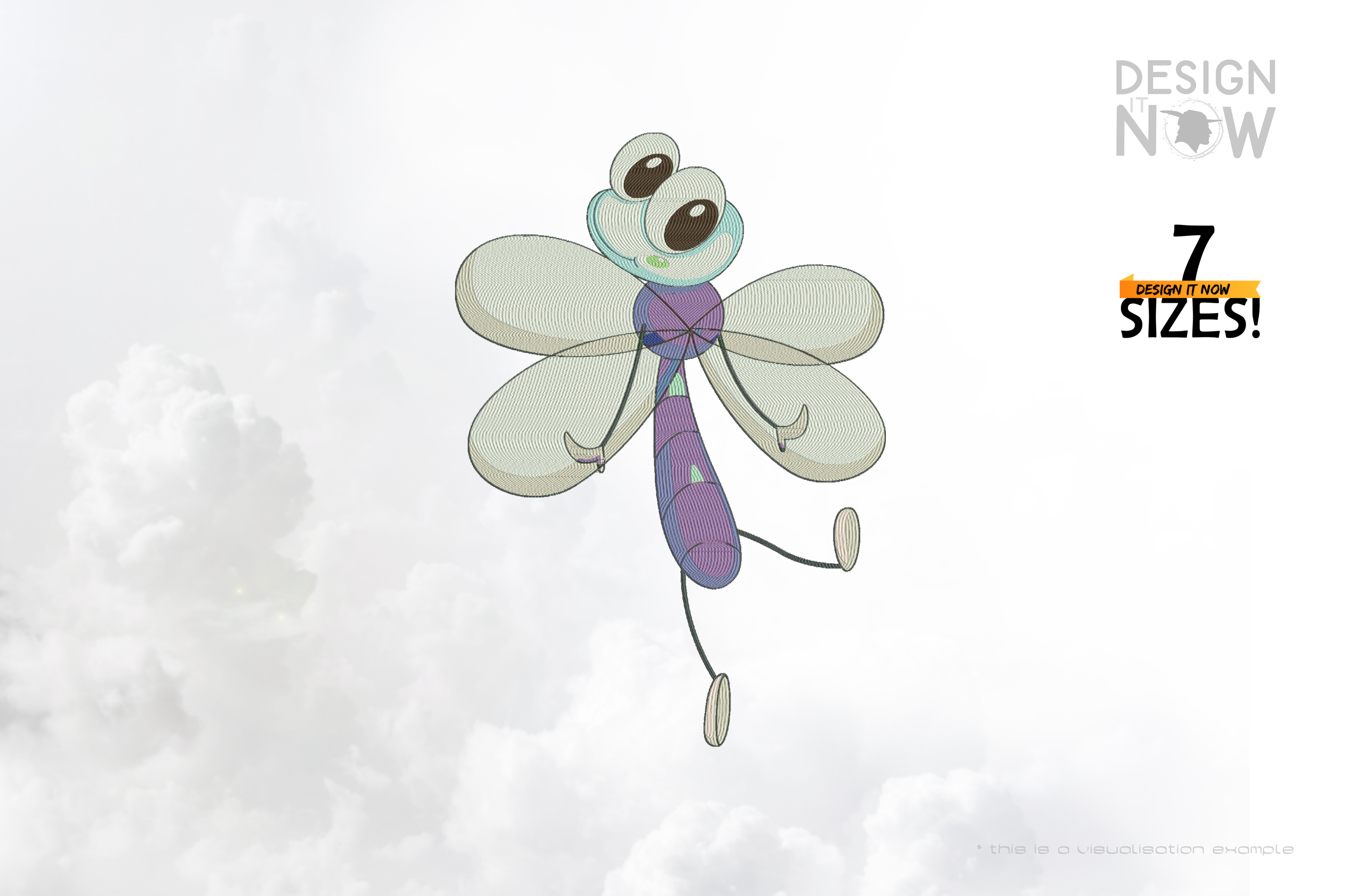 Cartoon Insect VII