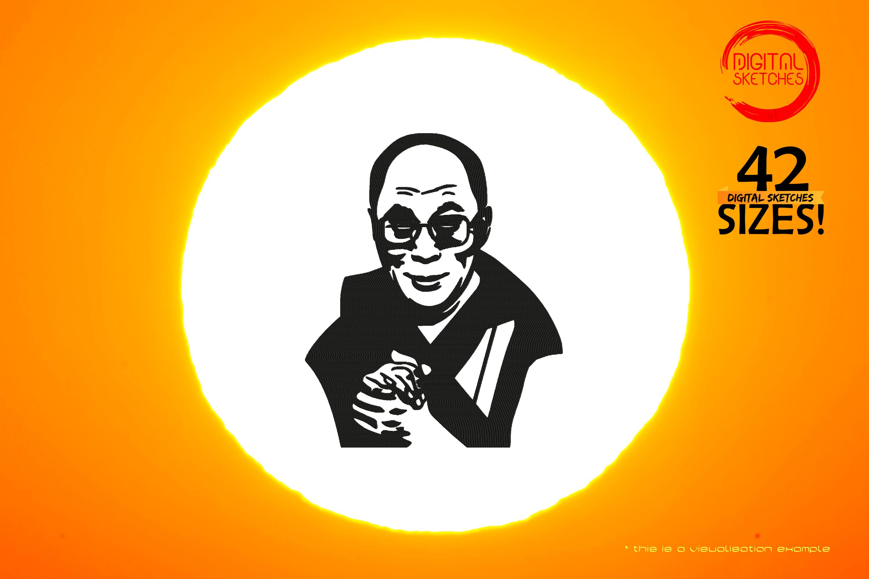 Tribute To Buddhist Monk Tenzin Gyatso aka Dalai Lama