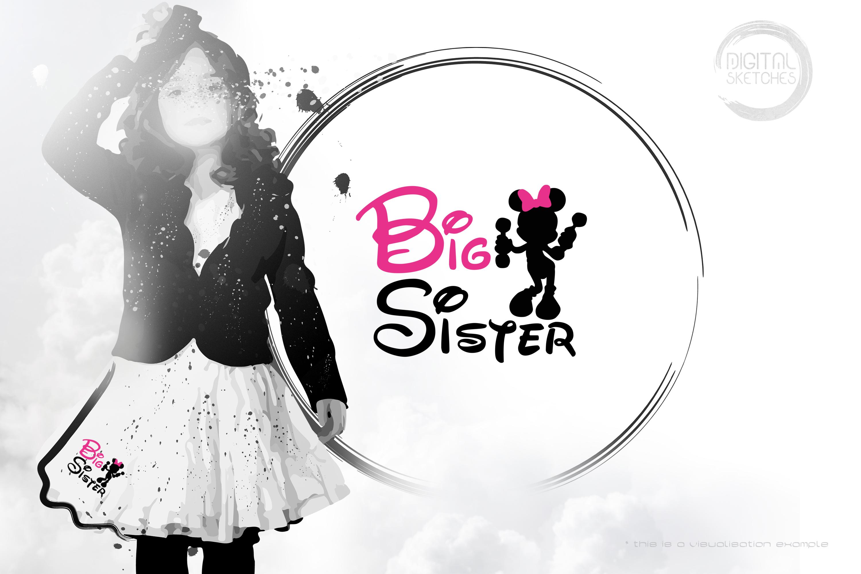 Mouse Girl Big Sister Saying