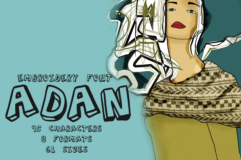 Adan Fancy Outlined
