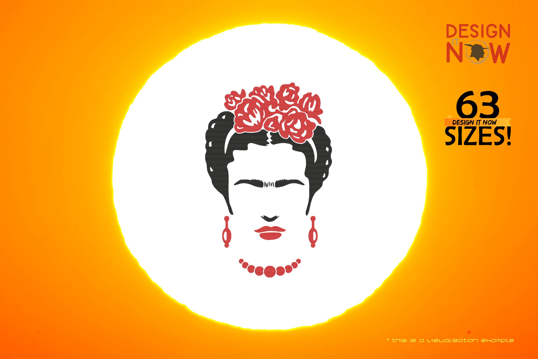 Tribute To Artist Magdalena Carmen Frieda Kahlo Y Calderon aka Frida Kahlo (Flowers)