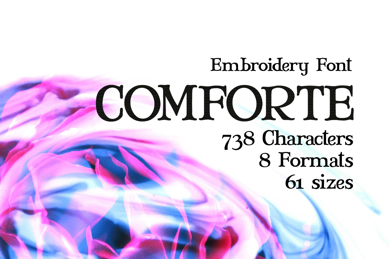 Comforte Serif Typeface