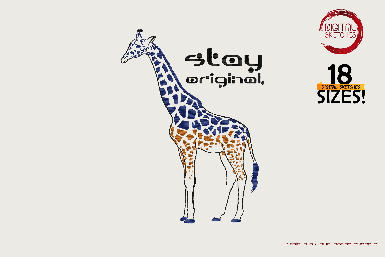 Giraffe Stay Original
