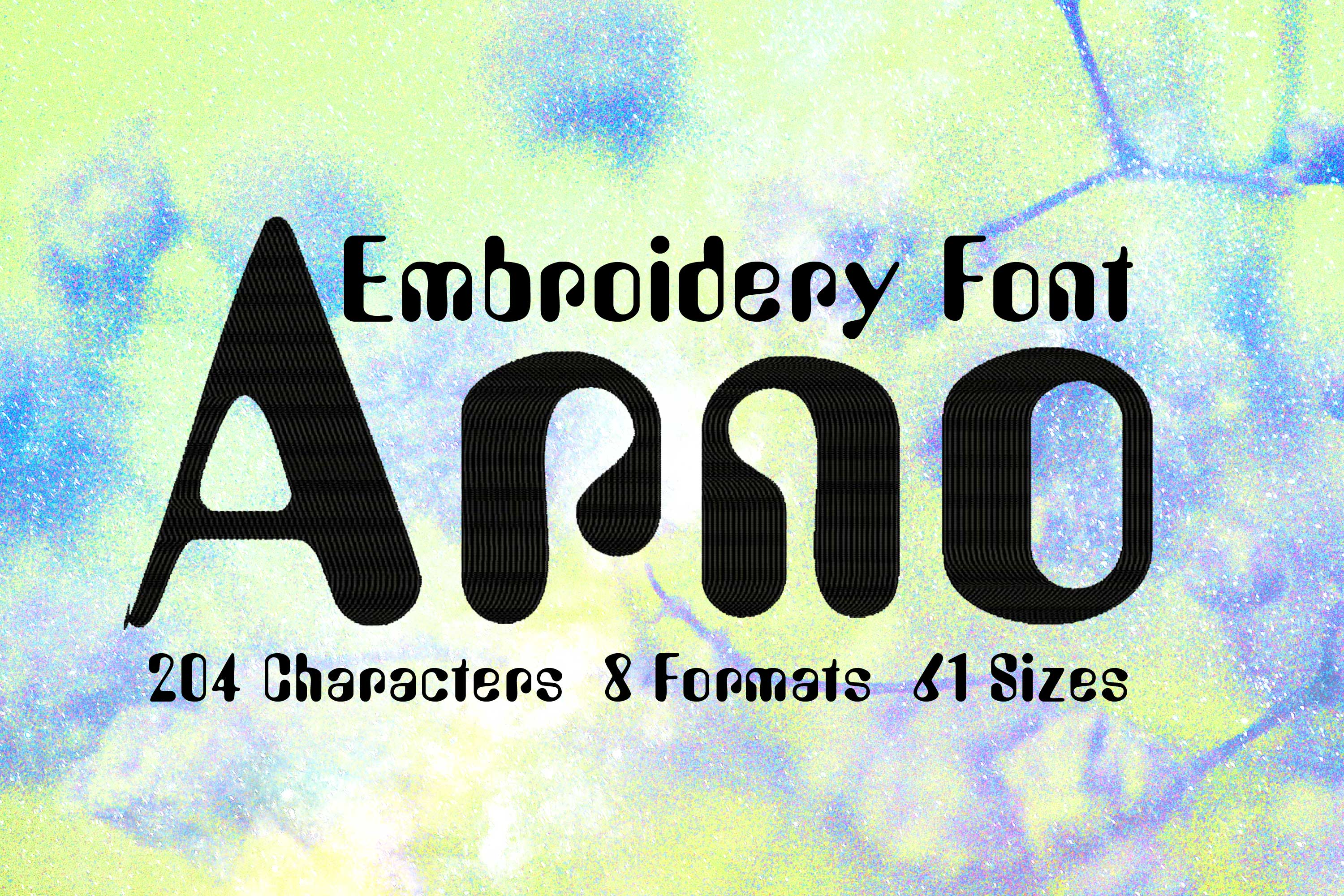 Arno Rounded Bold Letters Font