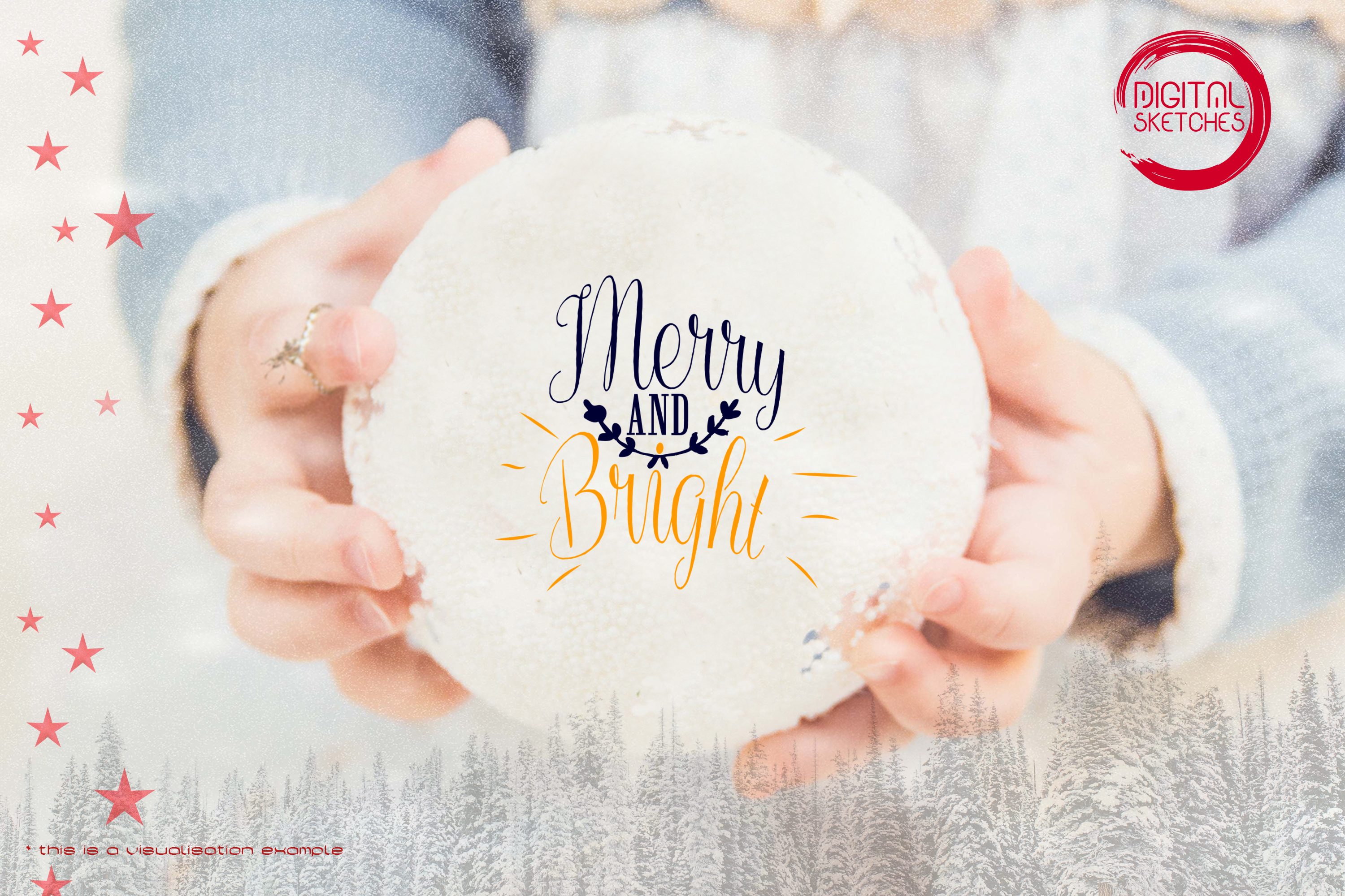 Merry And Bright Christmas Saying
