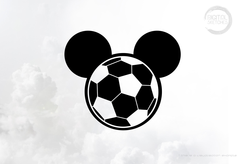 Soccer Mouse Head
